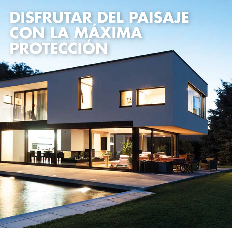 ESPECIAL CORREDERAS PVC. Seguir disfrutando del paisaje, con la m�xima protecci�n